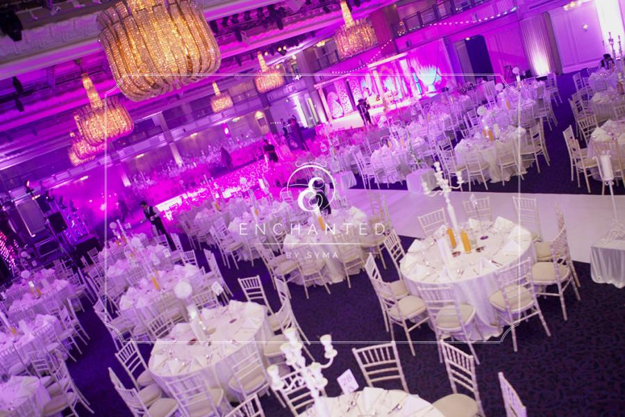 Grosvenor House – White Queen Wedding