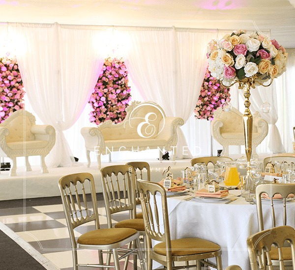 wedding decoration stage