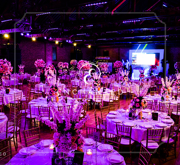grand wedding decor