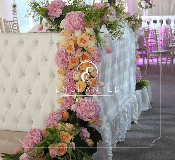 wedding decoration twilight stage